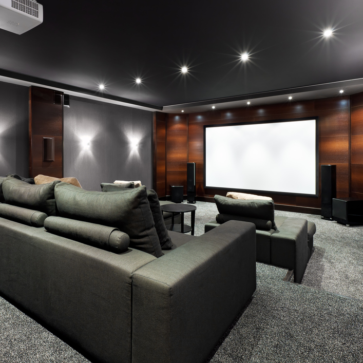 15 Professionally Made Home Theater Designs: Professional Home Theater Installation In Elk Grove, CA